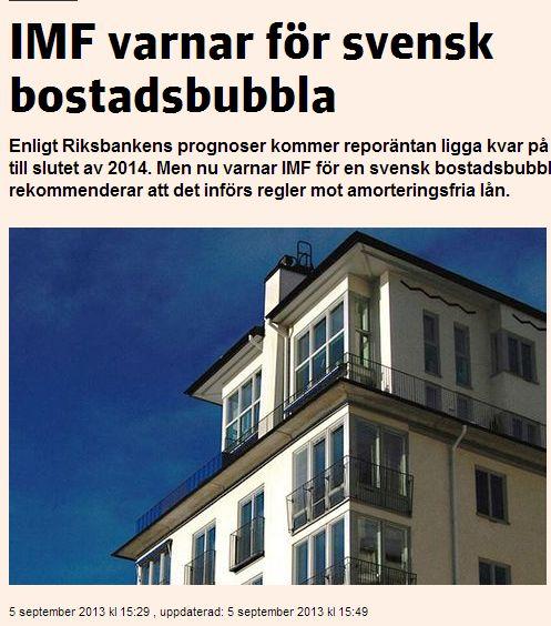 Riksbanken varnar unga bostadskopare